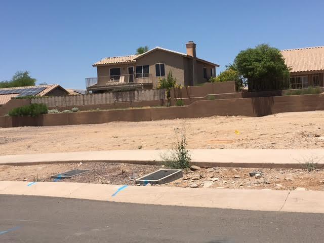 Scottsdale vacant lot