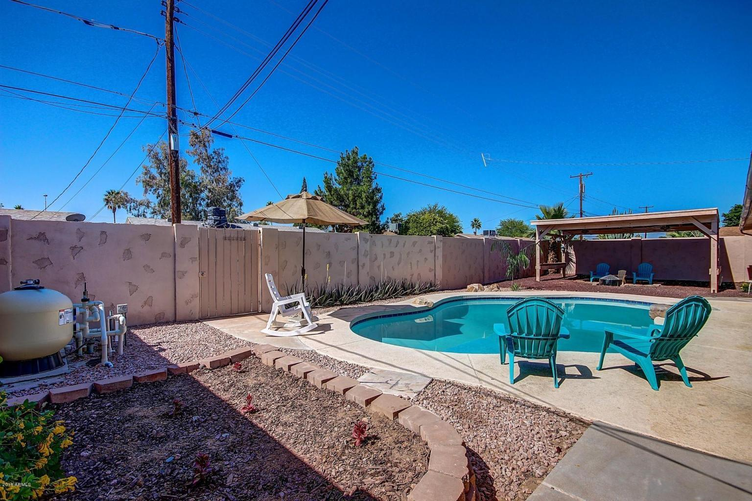 South scottsdale homes with pool lowest prices per square for Average square footage of a pool